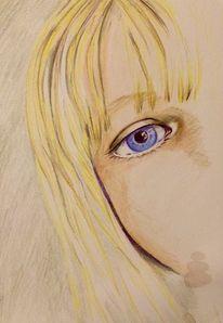 Augen, Farben, Zeichnungen