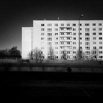Architektur, Stadt, Schwarzweiß, Fotografie