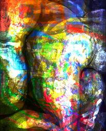 Textur, Tanzpaar, Gemälde, Zusammen