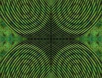 Stylized, Abstrakt, Digital, Grün