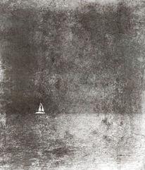 Natur, Segelboot, Fotografie, Depressing