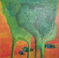 Malerei, Abstrakt, Hang