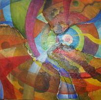 Malerei, Abstrakt, Kaleidoskop