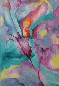 Verzierung, Farben, Schwerelosigkeit, Pastellmalerei