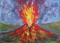 Malerei, Ausbruch