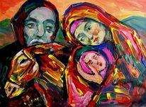 Malerei, Ägypten, Flucht