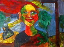 Malerei, Wahl, Glücklich