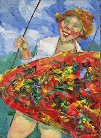 Malerei, Schaukel