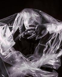 Angst, Beklemmung, Fotografie, Frau