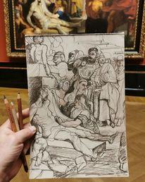Rubens, Wien, Heiligen, Skizze