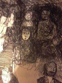 Lama, Kritzelei, Illustrationen,