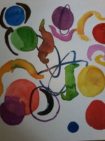 Kreis, Kreisel, Bewegung, Malerei