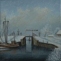 Norden, Schnee, Leuse, Eis