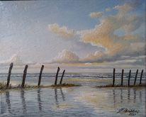 Ostfriesland, Meer, Sonnenlicht, Nordsee