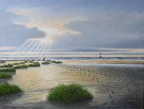 Sand, Nordsee, Dünen, Strand