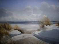 Nordsee, Schnee, Schillig, Winter