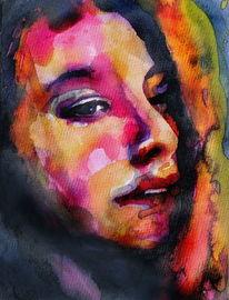 Menschen, Portrait, Frau, Gesicht