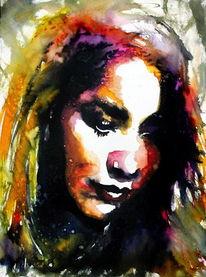 Portrait, Blick, Menschen, Ausdruck
