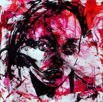 Frau, Figurativ, Gesicht, Ausdruck