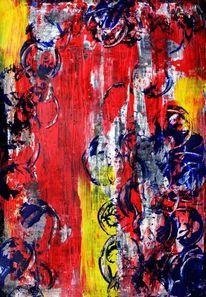 Farben, Struktur, Abstrakt, Modern