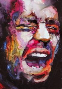 Emotion, Menschen, Ausdruck, Mann
