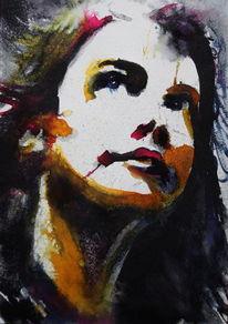 Frau, Ausdruck, Gesicht, Portrait