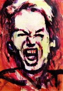Schrei, Menschen, Expressionismus, Gesicht