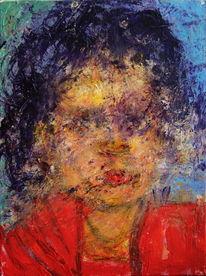 Abstrakt, Figurativ, Menschen, Gesicht