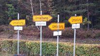Schilder, Wald, Umleitung, Fotografie