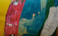 Abstrakt, Tusche, Malerei