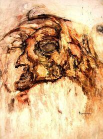 Augen, Botschaft, Begegnung, Zeichnungen