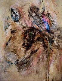 Pferde, Apokalypse, Knochen, Malerei