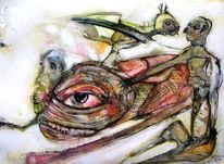Kopf, Augen, Menschen, Zeichnungen