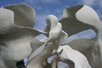 Skulptur, Gegenständlich, Landschaft, Familie