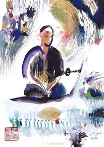 Schwertkampf, Japan, Sport, Yoga