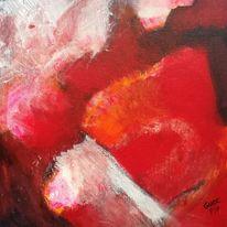 Rot, Abstrakt, Liebe, Malerei