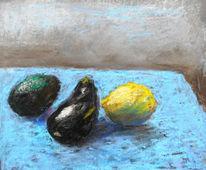 Früchte, Malerei