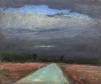 Himmel, Weg, Malerei