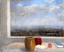 Fenster, Stillleben, Malerei