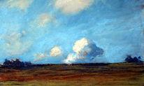 Herbst, Wolken, Licht, Malerei