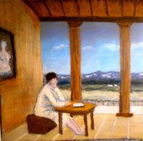 Meditation, Malerei