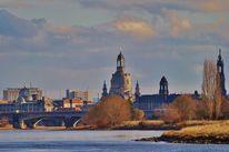 Elbe, Landschaft, Dresden, Fotografie