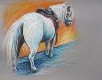 Pferde, Pony, Malerei