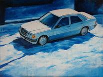 Mercedes benz, Mercedes, Baby benz, Schnee