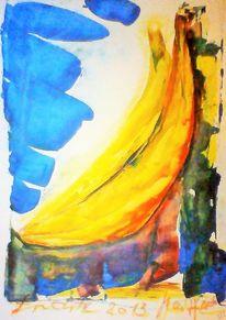 Garten, Früchte, Gelb, Obst