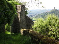 Fotografie, Burg, Hessen