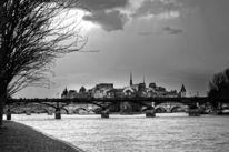 Schwarzweiß, Digital, Paris, Fotografie