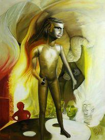 Menschen, Gesellschaft, Malerei, Gemälde