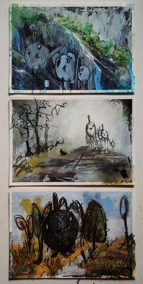 Vogel, Waldspaziergang, Langeweile, Mysteriös