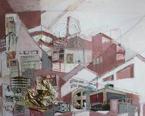 Stapelprinzip, Hänsel, Person, Collage